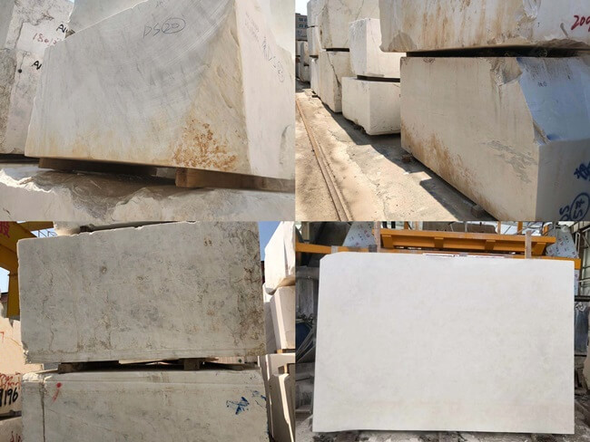 Ice White Onyx Blocks