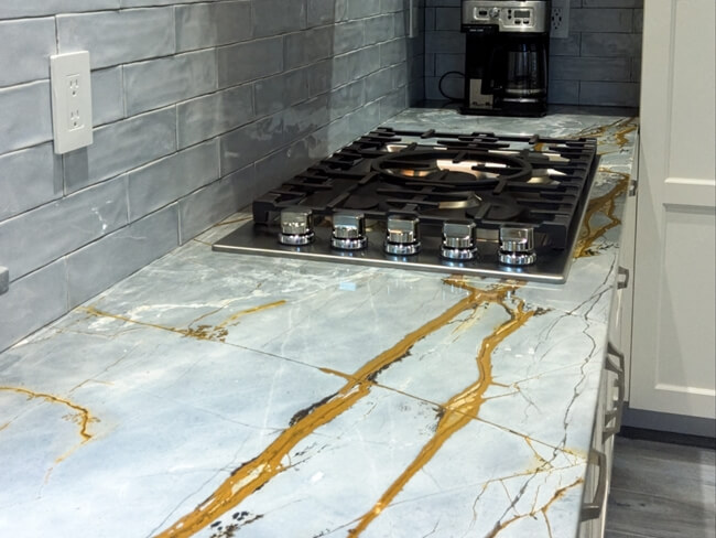 Blue Roma Quartzite for countertop