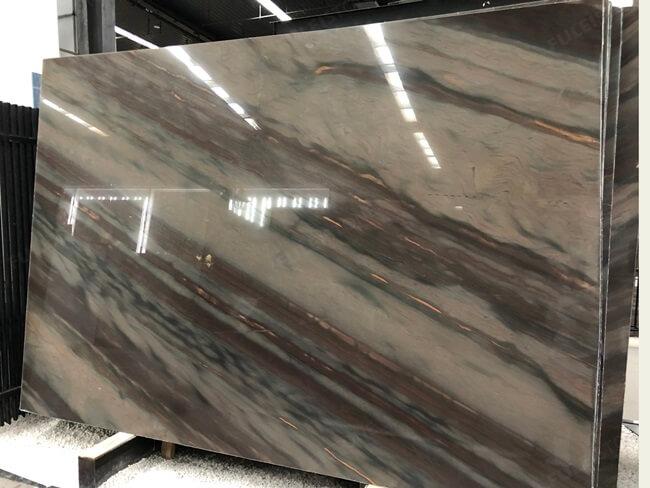 Elegant Brown Quartzite Polished Slabs