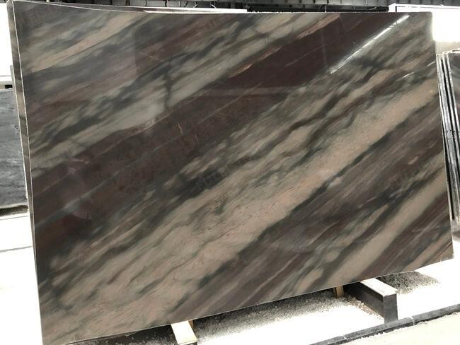Elegant Brown Quartzite Slabs With Striking Veins
