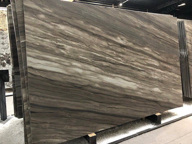 Sequoia Brown Marble Brushed Finish