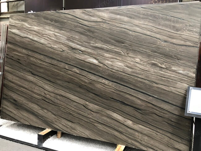 Sequoia Brown Marble Slabs Premium Quality
