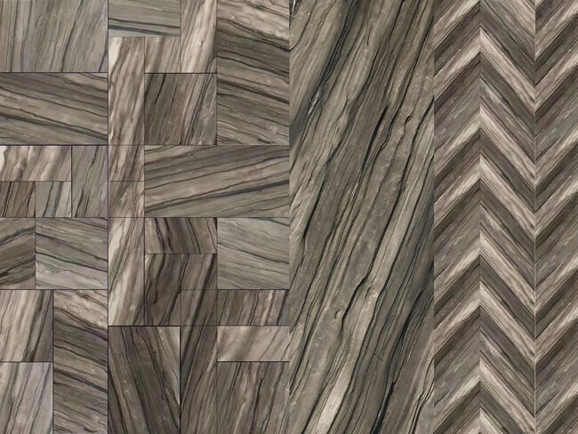 Sequoia Brown Marble Tiles Styles