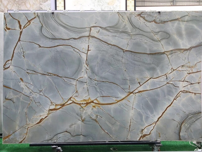 Blue Roma Quartzite Slab