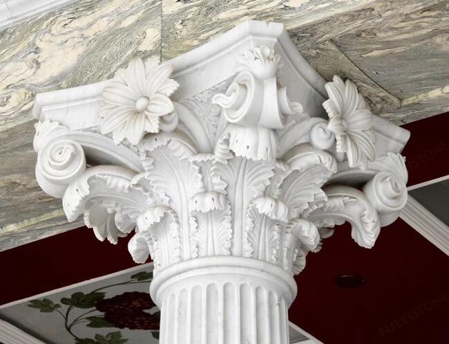 Corinthian Columns of Marble Stone (4)