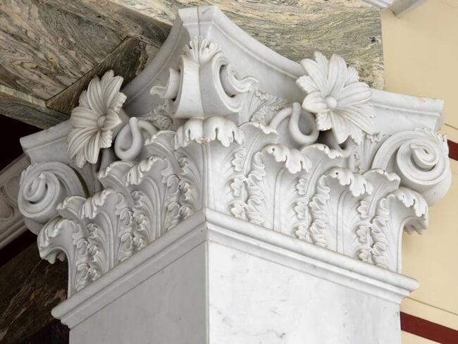 Corinthian Columns of Marble Stone (5)