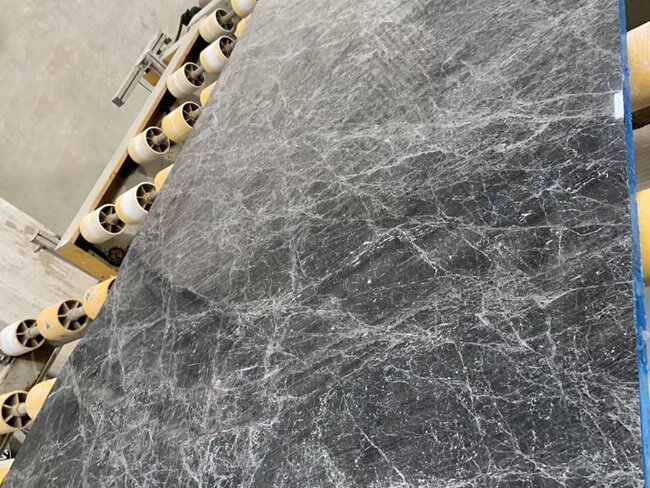 Grey Emperador Marble Polished