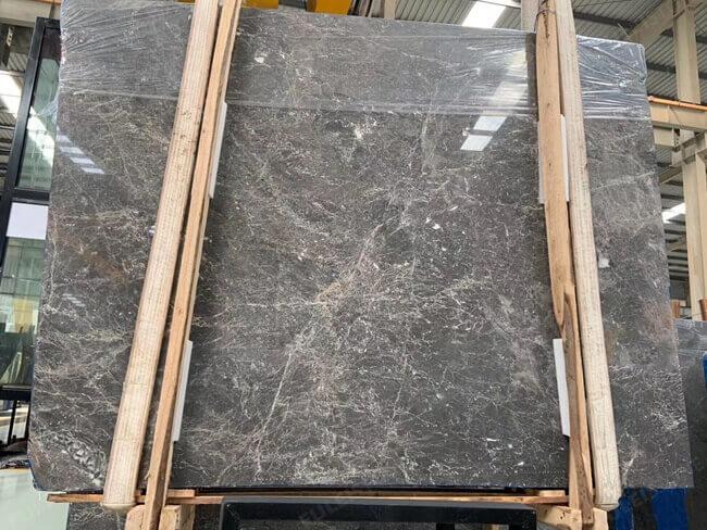 Grey Emperador Slabs