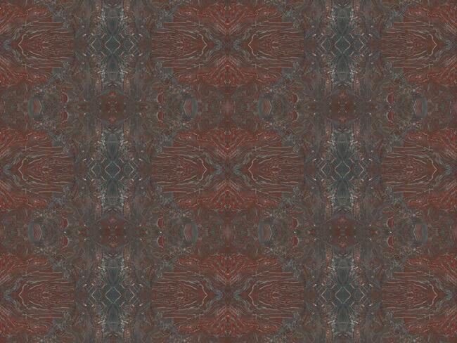 Iron Red Granite Bock match veins