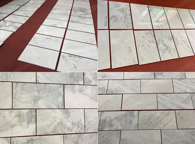 Lais Grey Marble Tiles