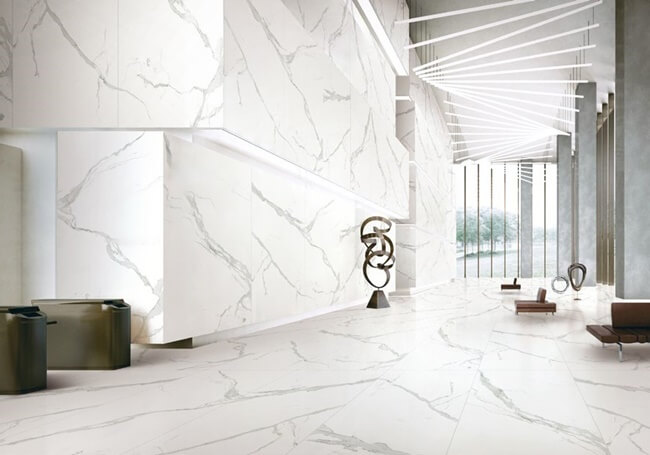 Lobby by Sintered Stone