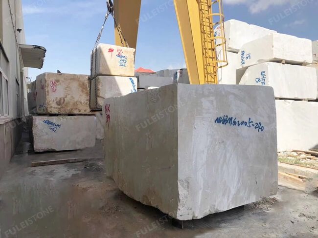 Ottoman Beige Marble Block