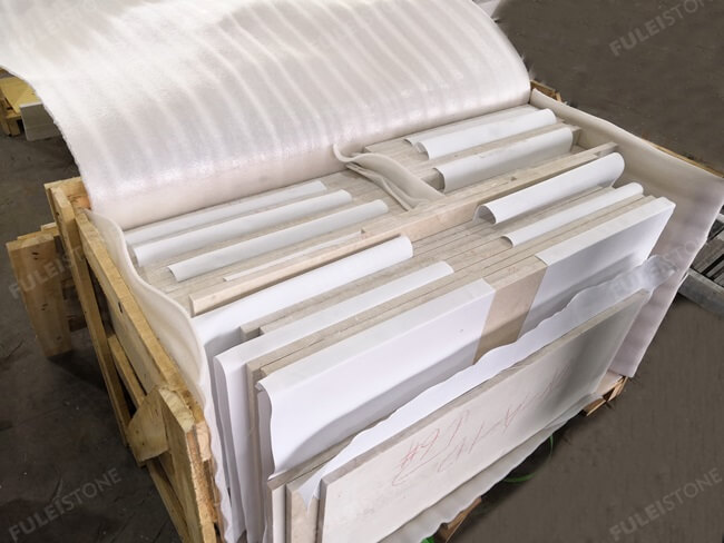 Ottoman Beige Marble Tiles Packing