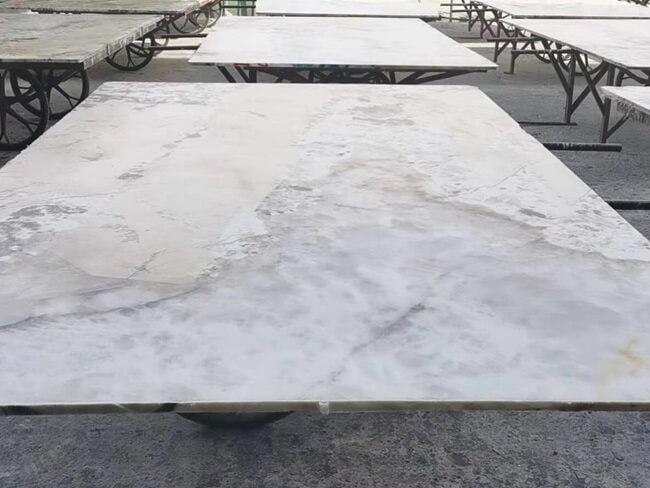 Patagonia Granite Slab filled with Epoxy