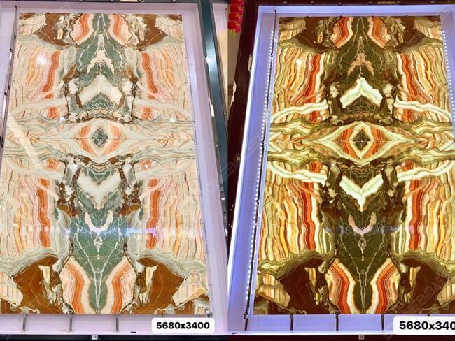 Rainbow Onyx Panel