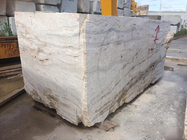onyx travertine block