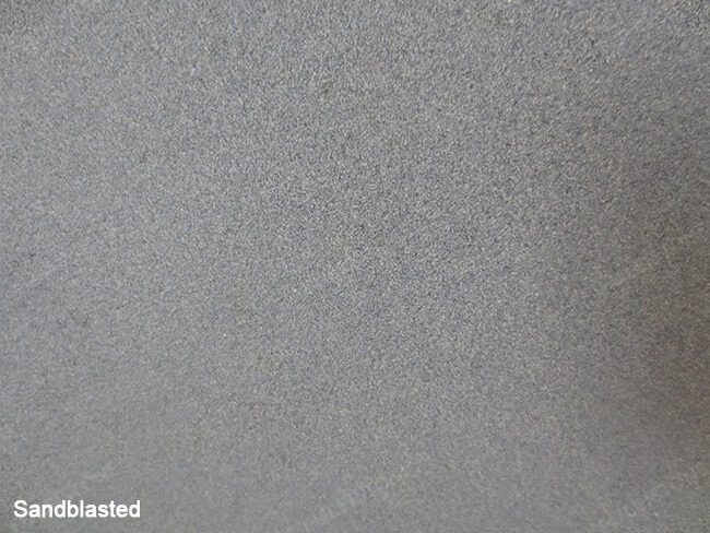 sandblasted mongolia black granite (1)