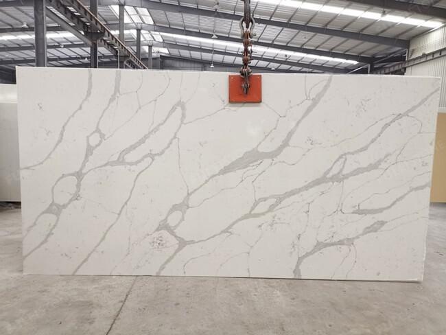 calacatta white and bianco carrara quartz series FLQA- (15)
