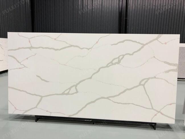 calacatta white and bianco carrara quartz series FLQA- (16)