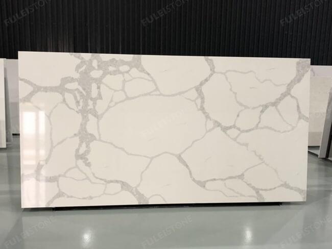 calacatta white and bianco carrara quartz series FLQA- (17)