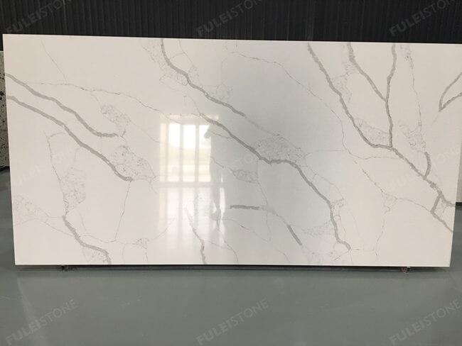 calacatta white and bianco carrara quartz series FLQA- (19)