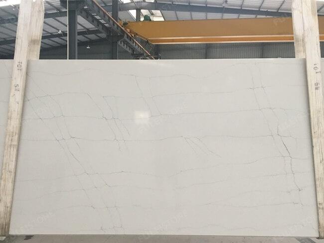 calacatta white and bianco carrara quartz series FLQA- (21)