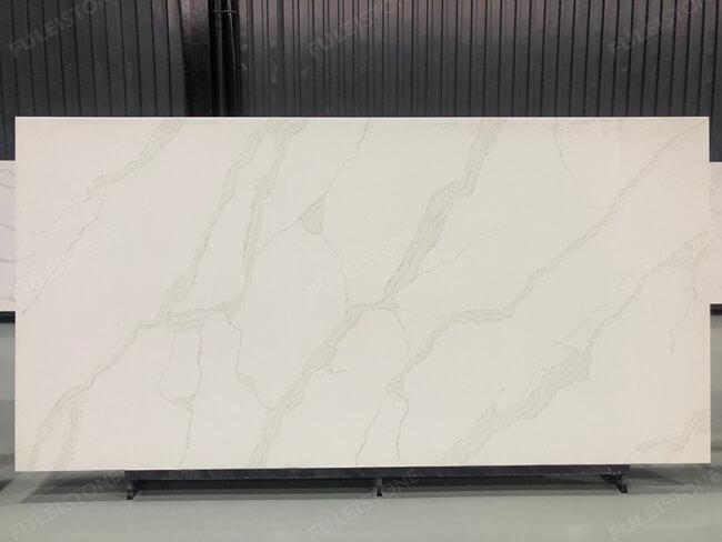 calacatta white and bianco carrara quartz series FLQA- (22)