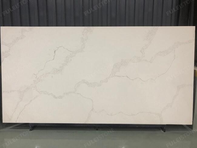 calacatta white and bianco carrara quartz series FLQA- (25)