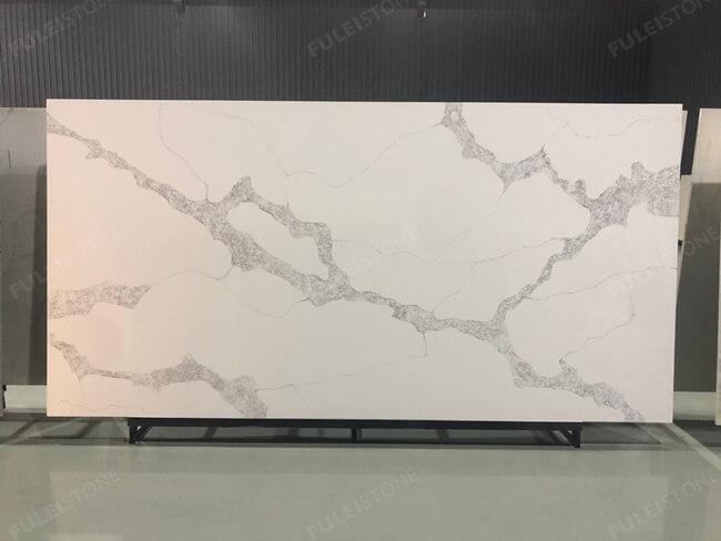 calacatta white and bianco carrara quartz series FLQA- (26)