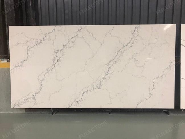 calacatta white and bianco carrara quartz series FLQA- (28)
