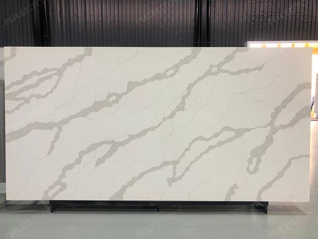 calacatta white and bianco carrara quartz series FLQA- (3)