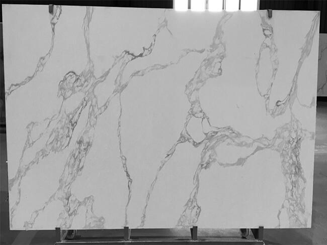 calacatta white and bianco carrara quartz series FLQA- (30)