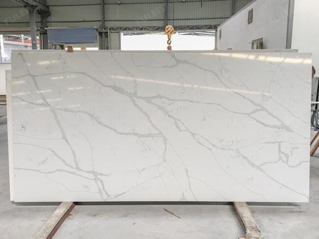 calacatta white and bianco carrara quartz series FLQA- (31)