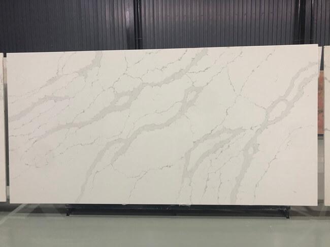 calacatta white and bianco carrara quartz series FLQA- (35)