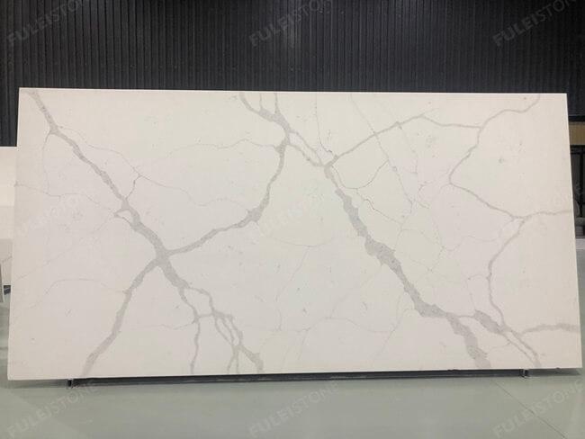 calacatta white and bianco carrara quartz series FLQA- (5)