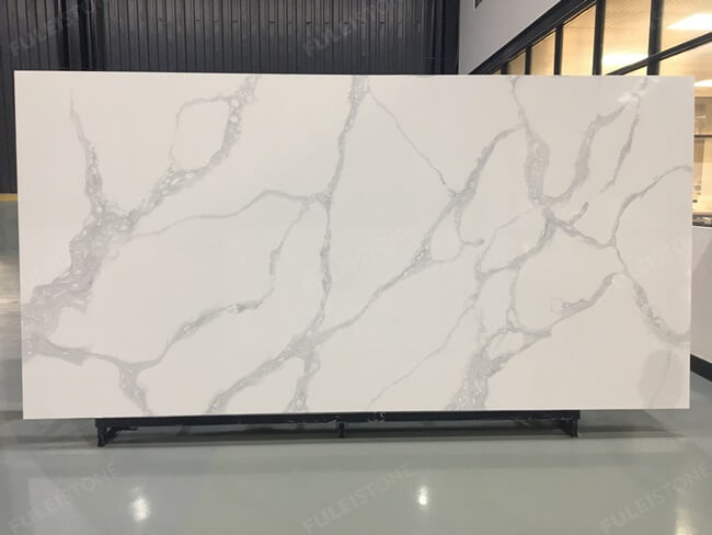calacatta white and bianco carrara quartz series FLQA- (6)