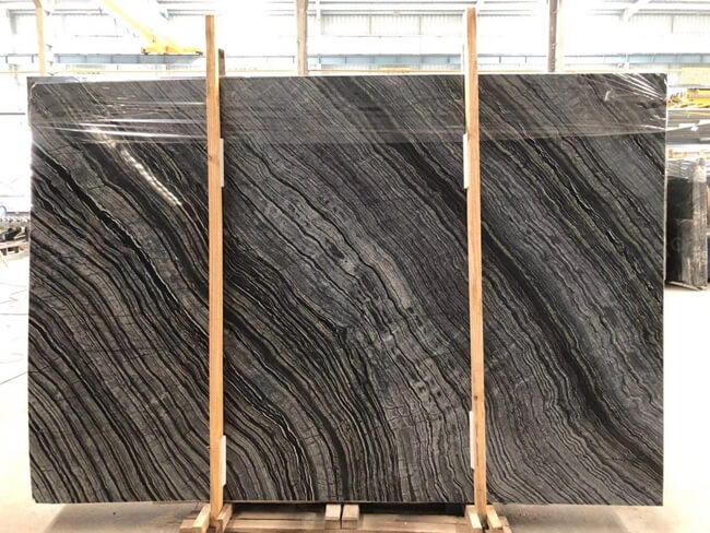 silver wave marble slab with good price