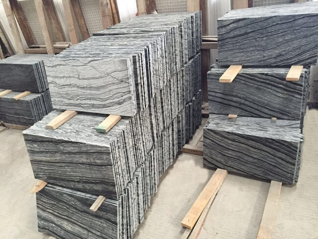 silver wave marble tiles