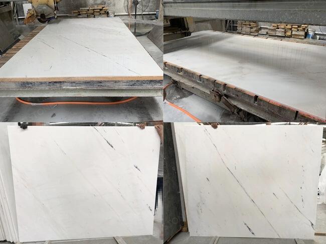 Elba White Marble Cut to Size