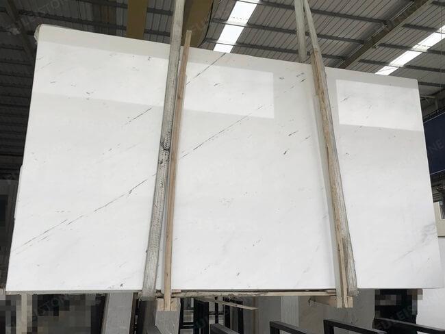 Elba White Marble Slabs