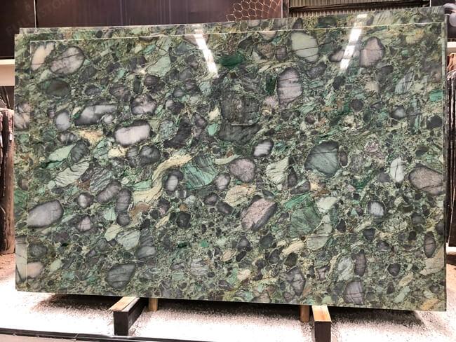 Verde Marinace Granite Slab