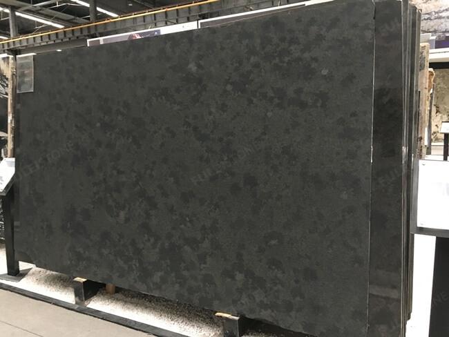 Antiqued Mystic Grey Granite slab