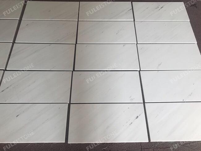 Bianco Sivec White Marble Floor Tiles