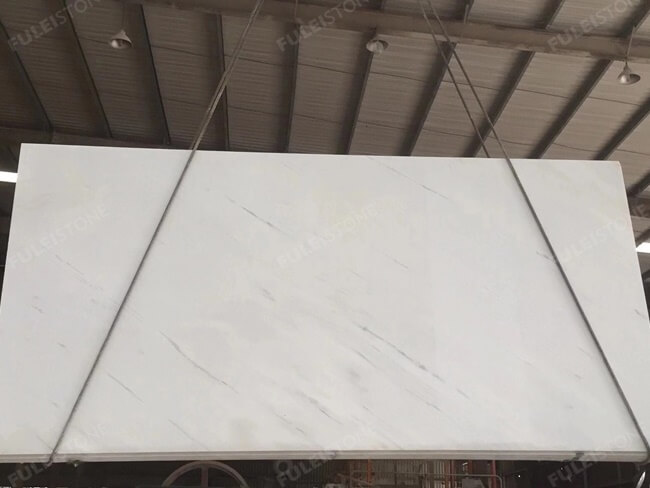 New Bianco Sivec White Marble Slab