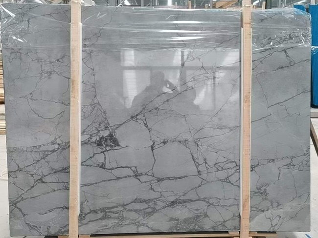china grey stone slabs with more veins
