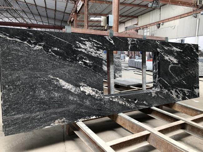 Chinese via lactea granite countertops big veins