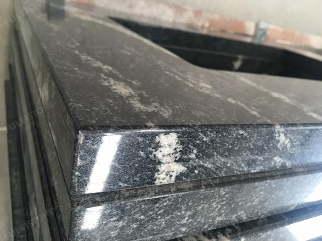 Chinese via lactea granite vanity top edge