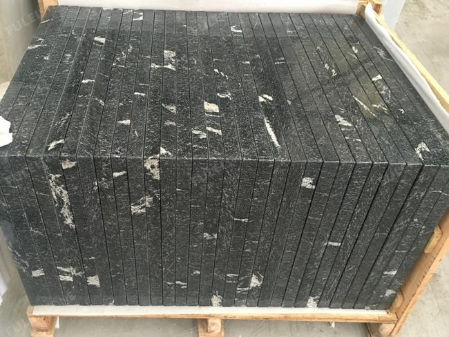 Chinese via lactea granite vanity top packing