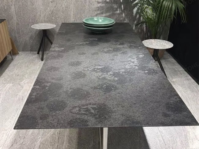 Honed Mystic Grey Granite for table (2)