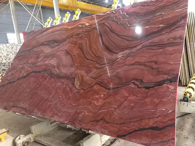 Large Slab of Polished Revolution Quartzite (2)